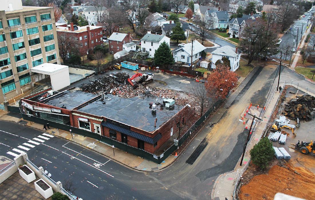 Post - Hyatt Place Arlington - Demolition