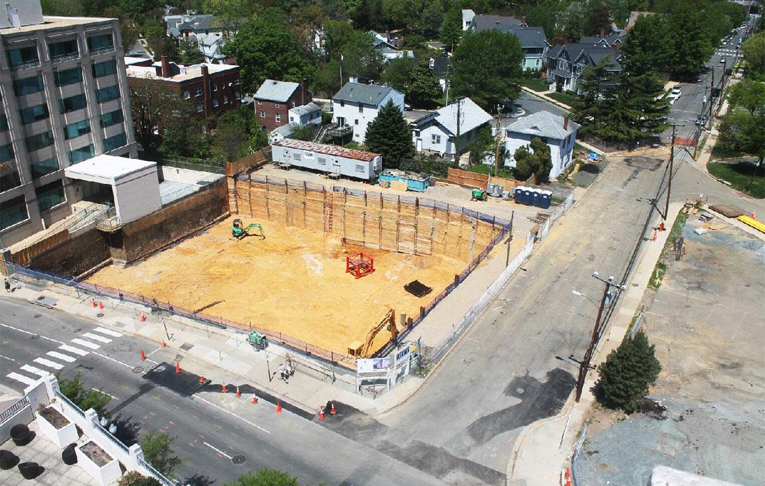 Post - Hyatt Place Arlington - Foundation